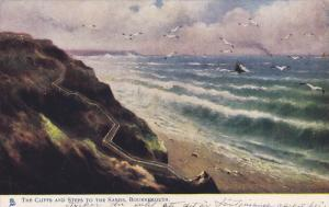 TUCK #1489, BOURNEMOUTH, Dorset, England, United Kingdom; The Cliffs and Step...