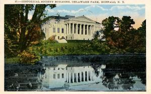 NY - Buffalo.  Delaware Park, Historical Building