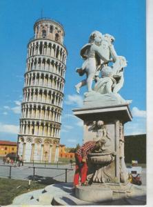 Postal 011272: Torre inclinada de Pisa