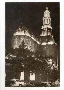 RP: Exterior of Church @ Night / A-Kerk, Groninger , Netherlands 1930-40s