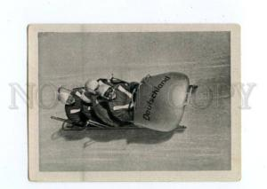 166982 VII Olympic Bobsleigh Germany CIGARETTE card