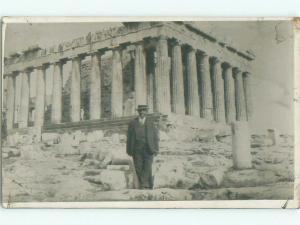 old rppc NICE VIEW Athens Greece i3398