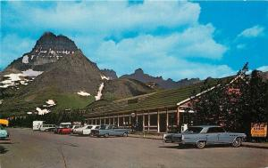Glacier National Park Montana~Swiftcurrent Motor Inn~Auto Camp Store~1960s Cars