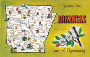Greetings From Arkansas The Land Of Opportunity