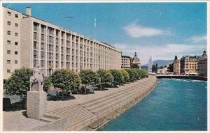 Switzerland Geneve Hotel du Rhone