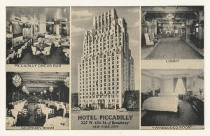 NEW YORK CITY, 1930s ; Hotel Piccadilly
