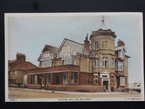 Sussex : Pevensey Bay The Hôtel Couleur Ancienne Carte Postale par F. Frith & Co