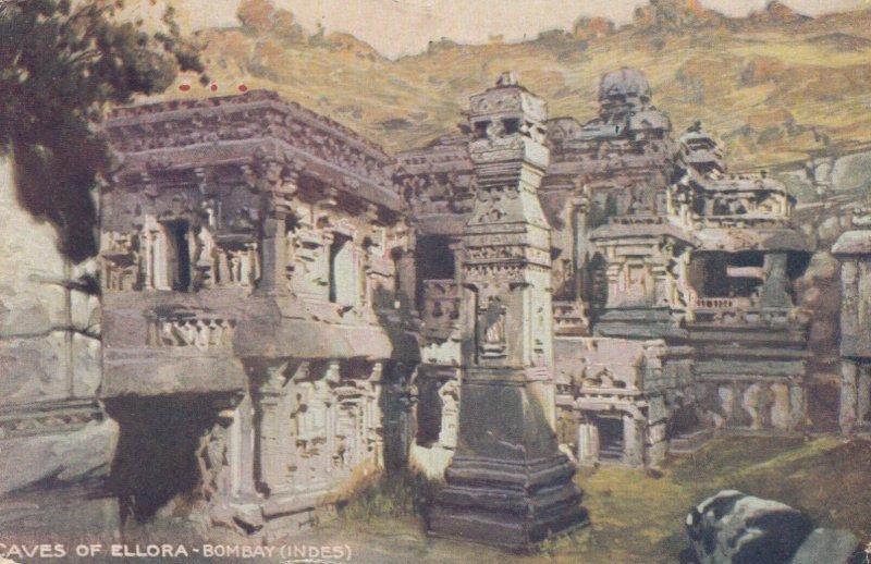BOMBAY , India , 00-10s Caves of Ellora