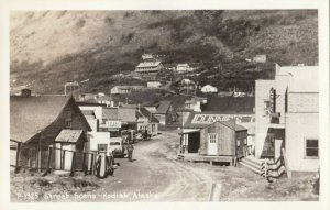 RP: KODIAK , Alaska , 1940s ; Street