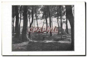 Postcard Old Scout Jamboree Scout Camping Tents