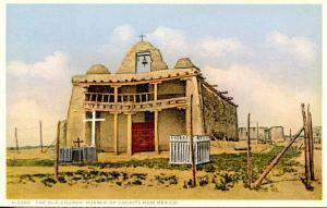 NM - Cochiti Pueblo. Church