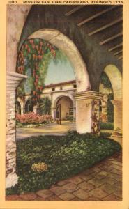 Corridors and Patio - Mission San Juan Capistano CA, California - Linen