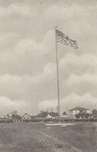 CAMP LEE, Virginia, 1910-20s; Old Glory
