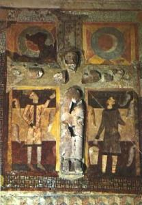 POSTAL 56105: Valls d Andorra Sant Joan de Caselles Crist Romanic del Segle XII