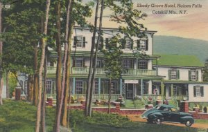 CATSKILL MOUNTAINS, New York, 30-40s; Shady Grove Hotel, Haines Falls