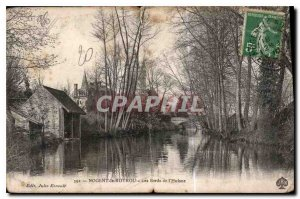Old Postcard Nogent Rotrou The Banks of the Huisne