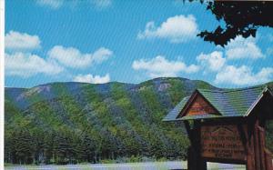 Canada Entrance Cape Breton Highlands National Park at Cheticamp Nova Scotia
