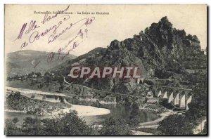 Old Postcard Surroundings of Saint Etienne in the Loire Pertuiset