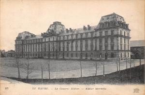 France Le Havre La Caserne Kleber - barracks 1921