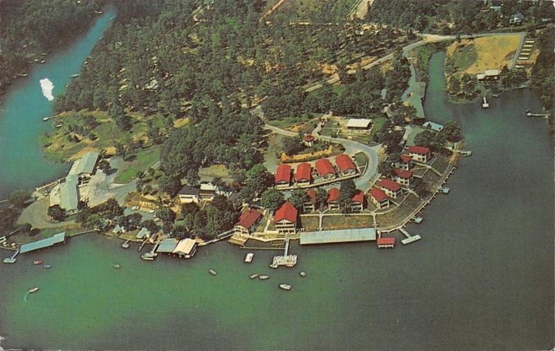 Hot Springs Arkansas~Klein Shore Court And Holiday Lake Resort~1970s PC