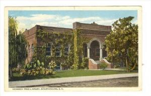 Kennedy Free Library, Spartanburg, South Carolina, PU-1918