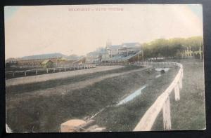 Mint Color Picture Postcard Shanghai China Race Course PPC