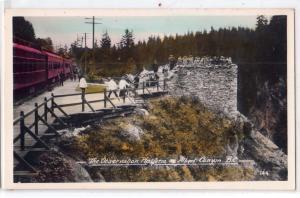 Observation Platform, Alberta Canyon BC