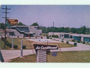 Unused 1950's PARK PLAZA COURTS MOTEL Nashville Tennessee TN s3396