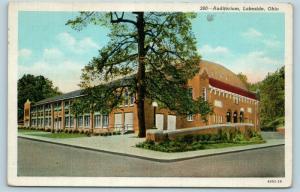 Postcard OH Lakeside Auditorium