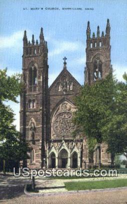 St Mary's Church Massillon OH Unused