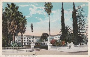 SANTA ANA , California , 1923 ; Saint Ana's Inn