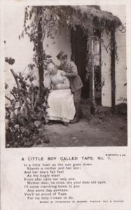 Bamforth A Little Boy Called Taps Card No 1