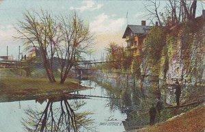 Illinois Rockford Swiss Cottage & I C R R Depot