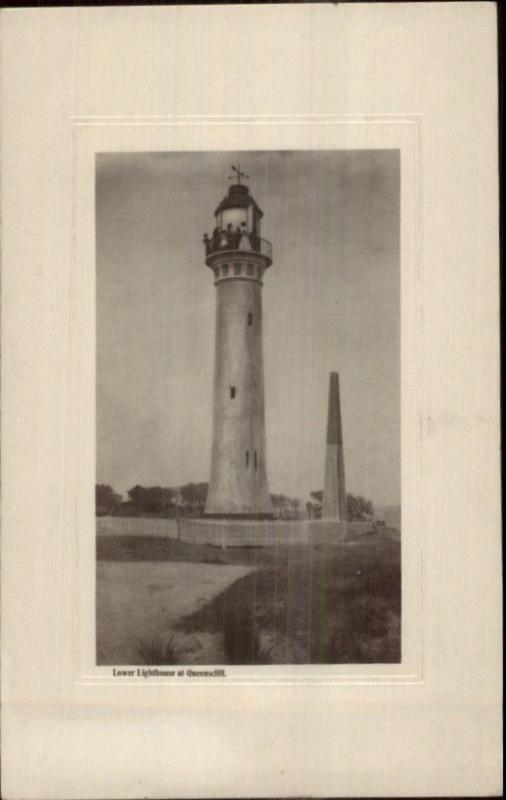Queenscliffe Victoria Australia Queenscliff Lighthouse Real Photo Postcard #2