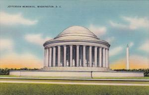 Jefferson Memoral Washington D C