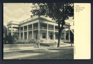 Manchester, New Hampshire/NH Postcard, Calumet Club