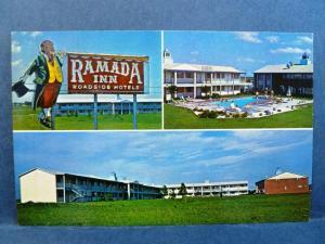 Postcard KS Newton Ramada Inn Vintage Multiview