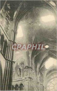 Old Postcard Reims Cathedrale The Vaults found by Shells Army