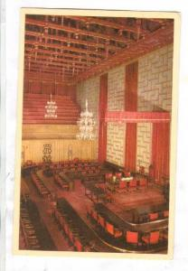 Interior, City Hall, Council Room, Stockholm, Sweden, 00-10s