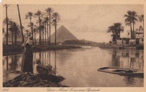 RP: CAIRO, Egypt, 30-50s; Flood Time near Pyramids
