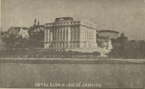 brazil, RIO DE JANEIRO, Hotel Gloria (1940s)