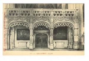 Le Jube, Eglise De BROU , France, 1900-1910s