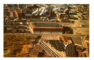 MO - St. Louis. Anheuser-Busch Brewing Co., Aerial View