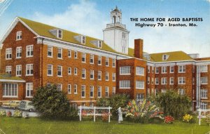Ironton Missouri~Home for Aged Baptists in Arcadia Valley~1950s Postcard
