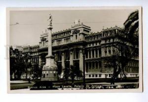 133037 ARGENTINA Buenos Aires Plaza Lavalle Vintage photo