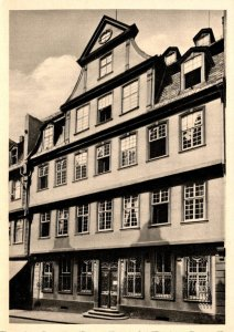 Germany Frankfurt am Main Das Goethehaus