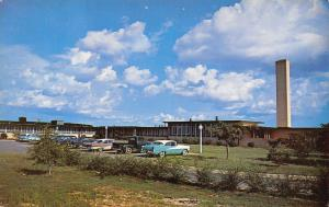Ozark Alabama~Dale County Hospital~Nice 1950s Cars in Parking Lot~Postcard