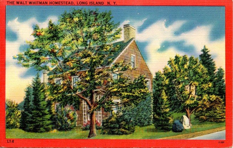 NY - Melville, Long Island. Walt Whitman Homestead