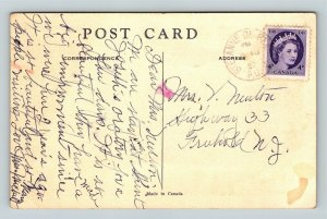 Montreal-Canada, Bell Telephone Co., Vintage c1957 Postcard