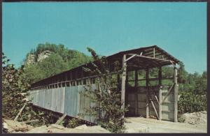 Mullins Station Covered Bridge,Rockcastle County,KY Postcard